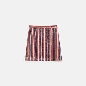 Zara Sequined Skirt